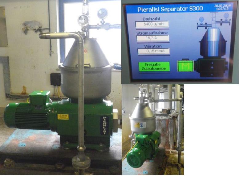 gebrauchter PIERALISI Separator S 300