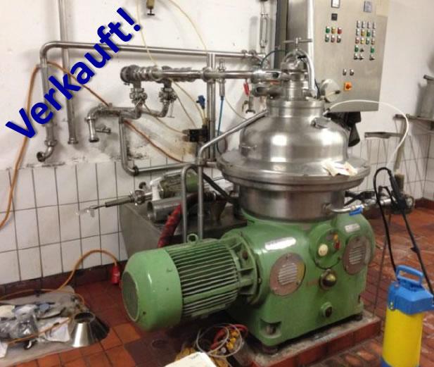 gebrauchter GEA Westfalia Separator SA 35-047-076